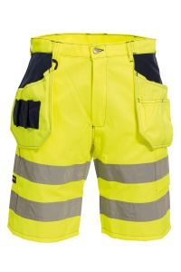 Shorts Håndverk, Farge: 94 gul/marine