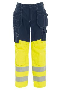 Bukse Håndverk, Farge: 94 gul/marine