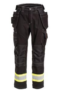 Bukse Håndverk, Farge: 95 sort/gul