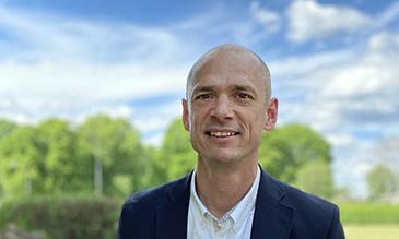 Max Larsson, VD på Tranemo Textil, utsågs till Årets företagare